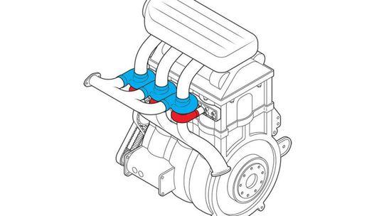 Motorár Fordu predstavil trojvalec s troma turbami