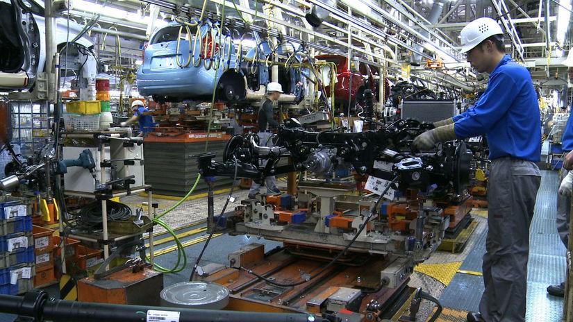 Nissan - výroba