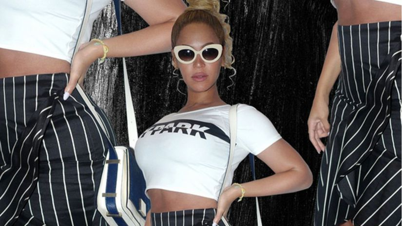 Speváčka Beyoncé na zábere z Instagramu.