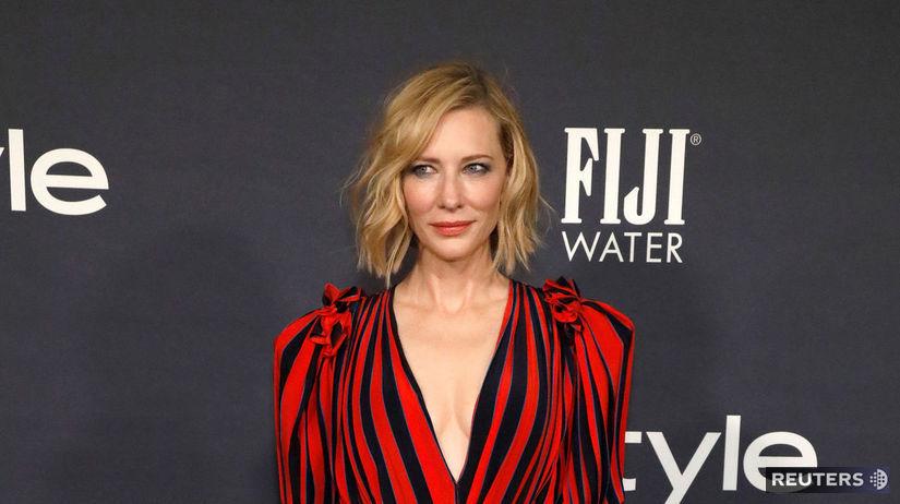 Herečka Cate Blanchett v kreácii Givenchy.