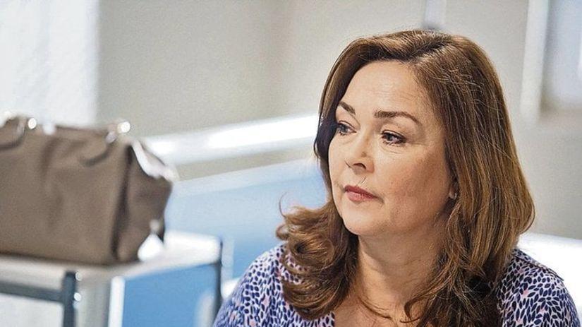 Herečka Dagmar Sanitrová na archívnom zábere.
