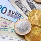 peniaze, mena, euro, česká koruna