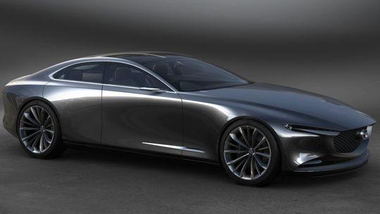 Mazda Vision Coupé: Štvordverové kupé žiari v Tokiu. Ale bez wankelu