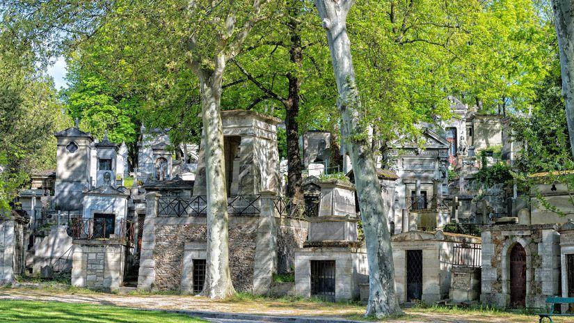 Pére Lachaise, cintorín, hroby, dušičky,...