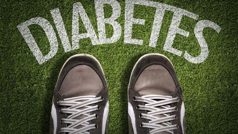 diabetes, tenisky