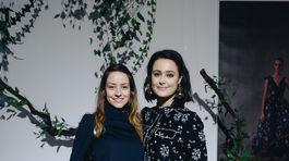 Barbara Jagušák Heribanová (vľavo) s Ivanou Súkenníkovou z H&M.