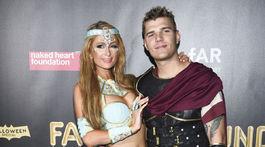 Paris Hilton a jej priateľ Chris Zylka