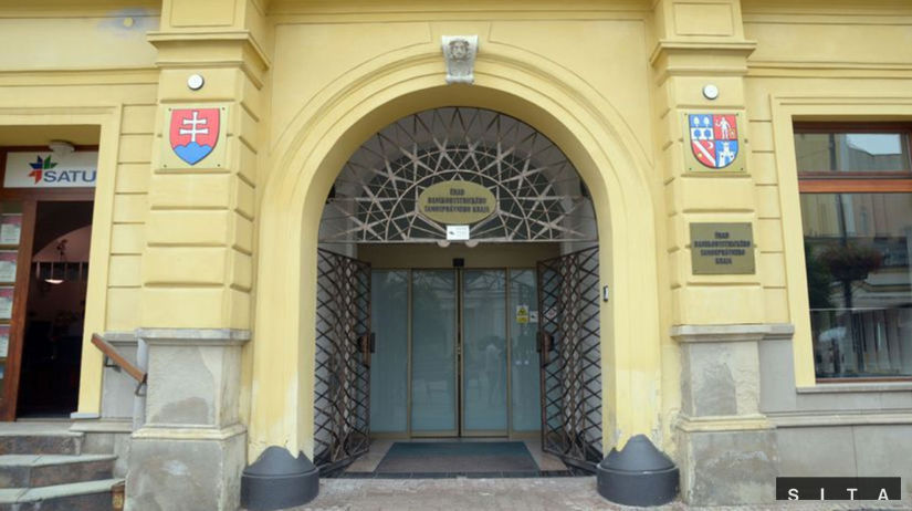 Banská Bystrica, župa, úrad