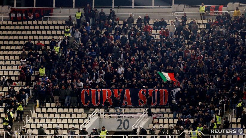 AC Miláno fanúšikovia