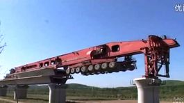 Čína - žeriav na mosty