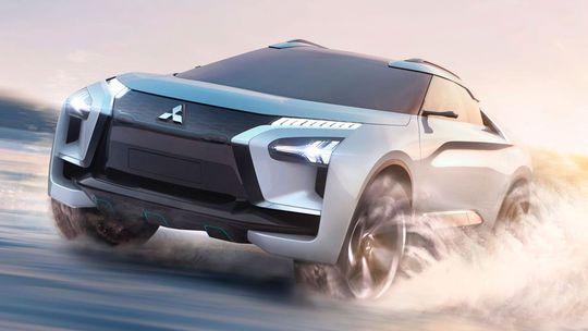 Mitsubishi e-Evolution: Elektrický crossover sľubuje inteligenciu