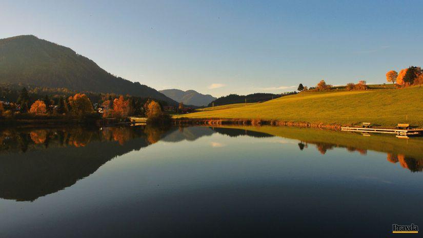 Štajersko, jazero