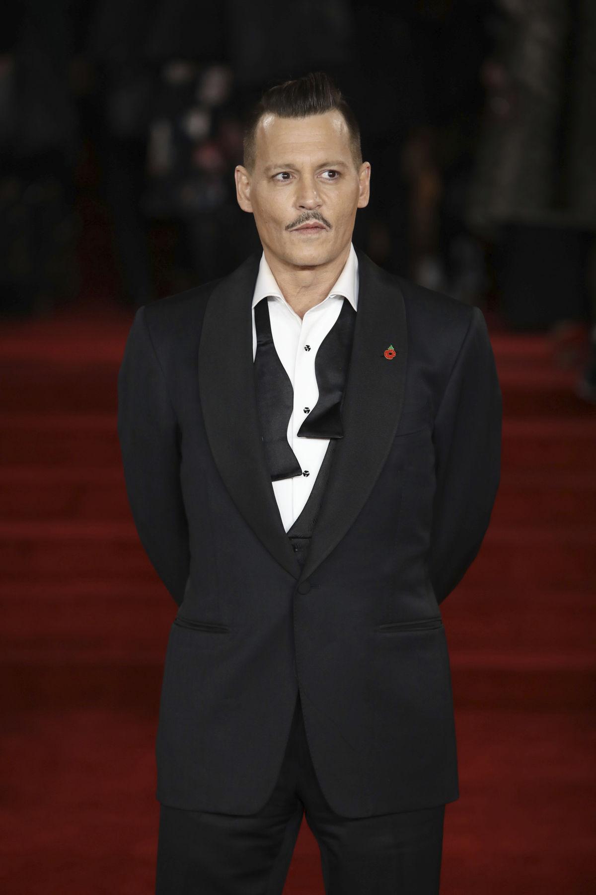 Herec Johnny Depp.
