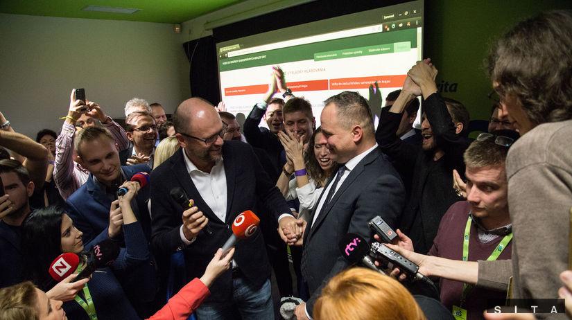 Úspech SaS Juraj Droba voľby do VÚC