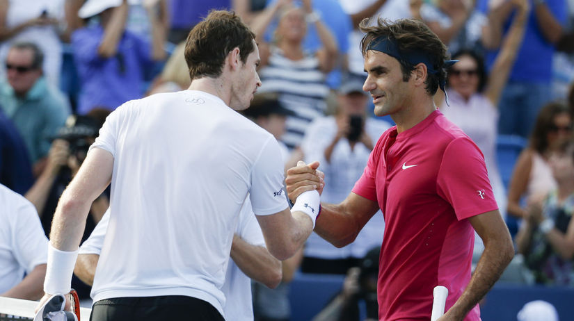 Andy Murray, Roger Federer
