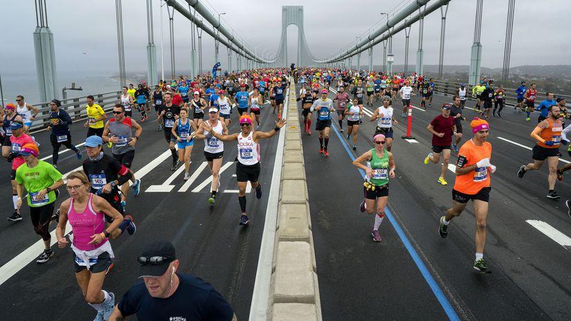 New York, maratón