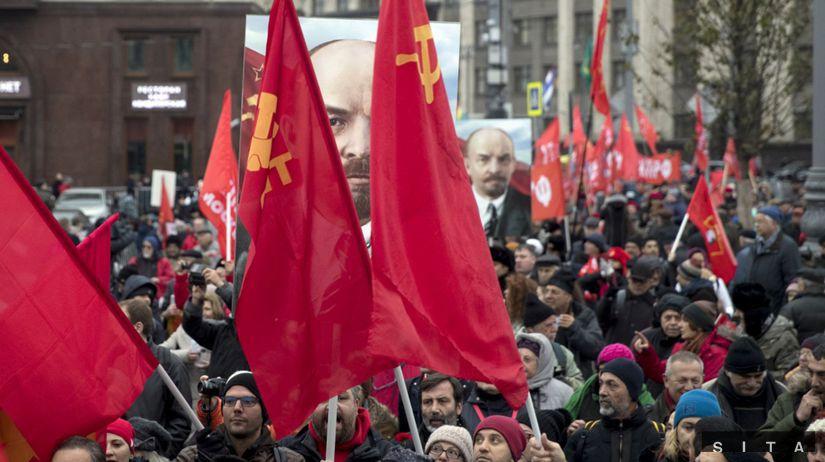 Russia Revolution Anniversary