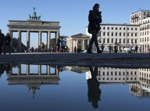 Berlín, Nemecko, Brandenburská brána