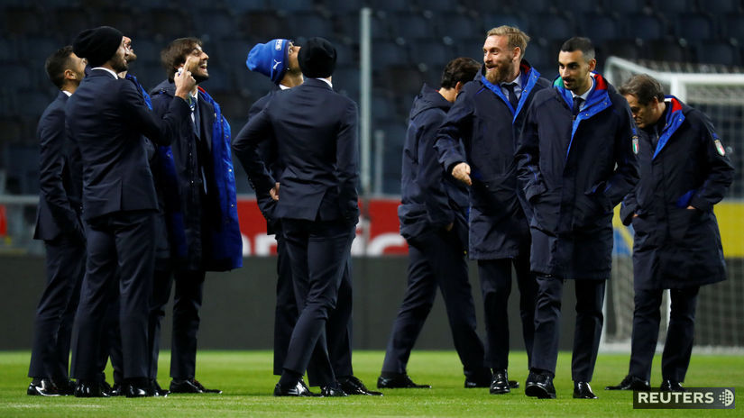 Taliansko, Švédsko, futbal