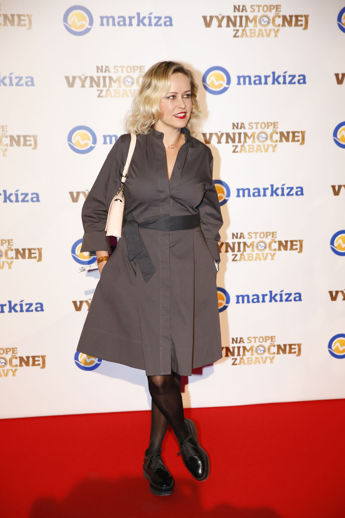Herečka Michaela Čobejová.