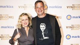 Herečka Michaela Čobejová s kamarátom Danom Danglom.