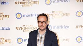Moderátor Rasťo Sokol.