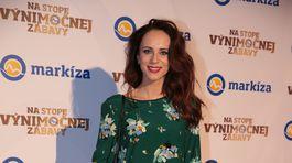 Moderátorka Lenka Vavrinčíková.
