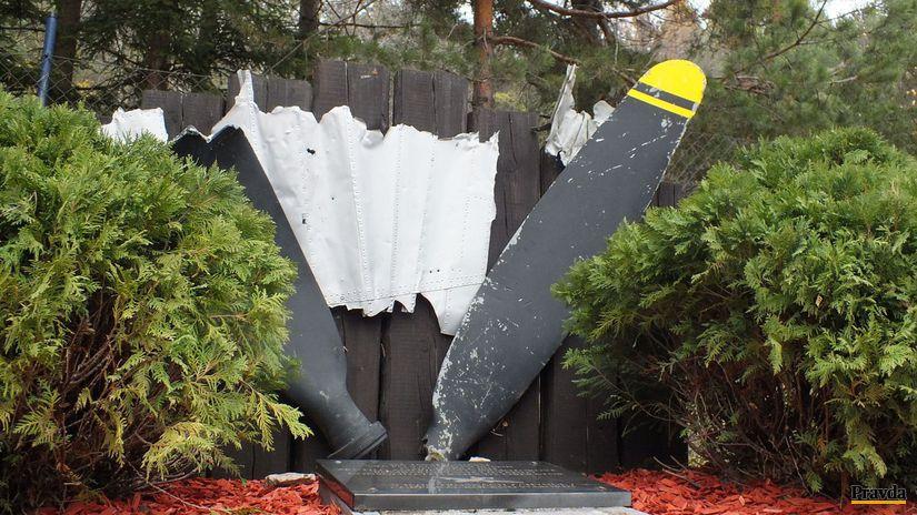 Pamätník amerických letcov Trenčianske Teplice