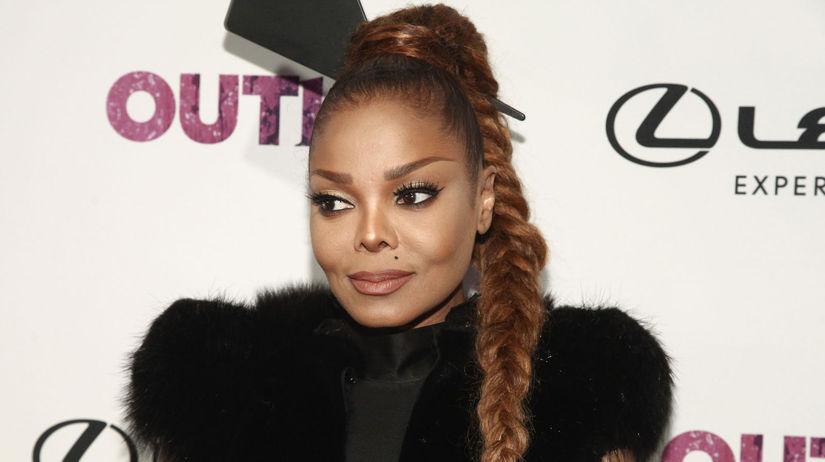 Speváčka Janet Jackson na Annual OUT100...