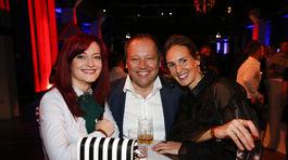 V dobrej nálade bol aj generálny riaditeľ TV Markíza Matthias Settele.