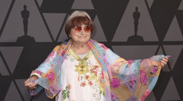 Francúzska režisérka Agnes Varda.