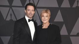 Herec Hugh Jackman a jeho manželka Deborra-lee Furness.