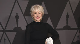 Herečka Helen Mirren.