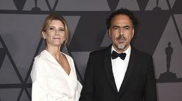 Režisér Alejandro Gonzalez Inarritu a jeho manželka Maria Eladia Hagerman.