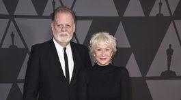 Taylor Hackford a jeho manželka Helen Mirren.