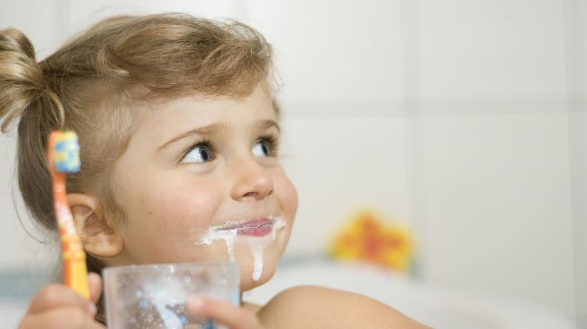 dieťa, zuby, hygiena