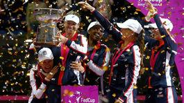 Fed Cup, radosť
