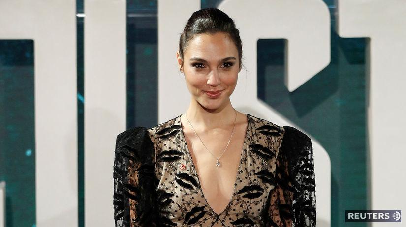 Izraelská herečka Gal Gadot na archívnom zábere.