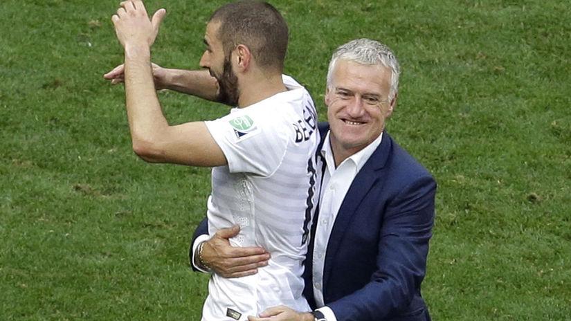 Karim Benzema, Didier Deschamps,