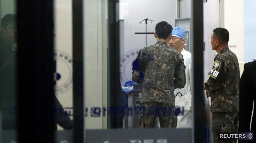 KĽDR dezercia vojak Južná Kórea