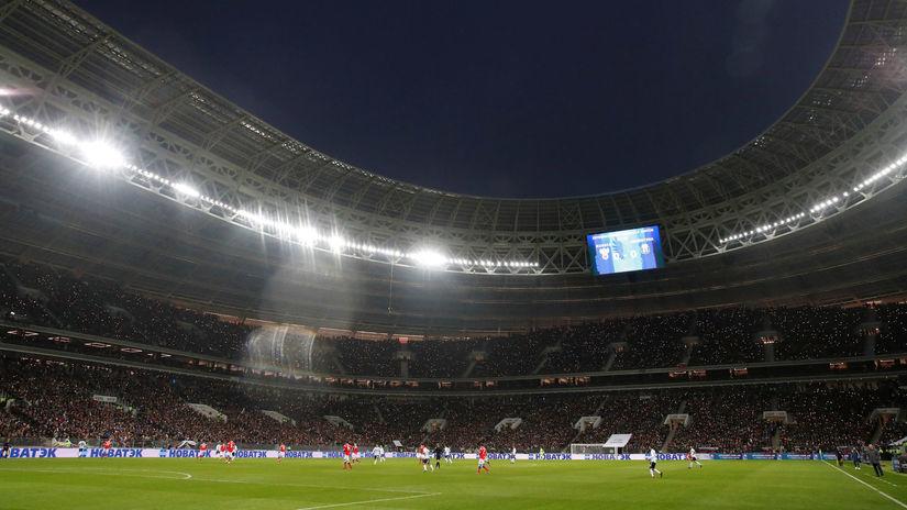 Lužniki, Rusko, Argentína, futbal