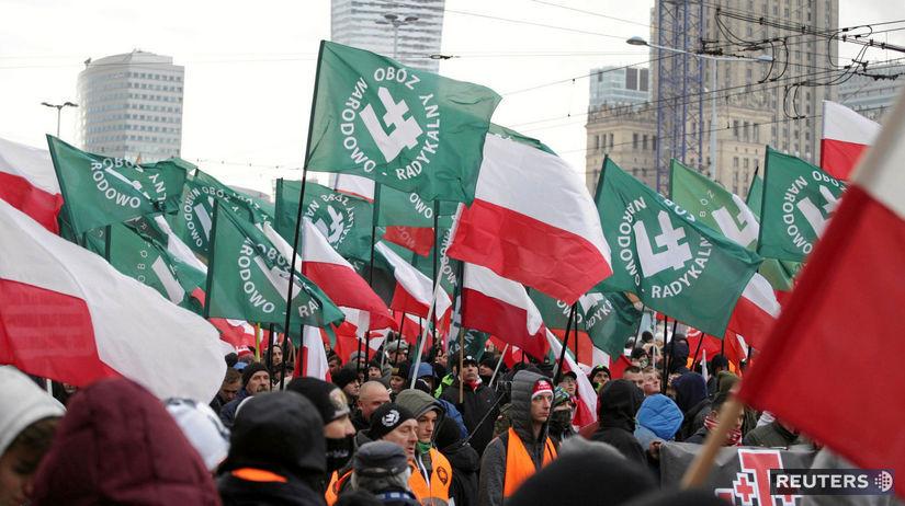 polsko, pochod, varsava