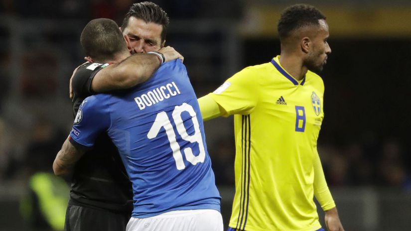 Gianluigi Buffon, Leonardo Bonucci