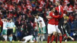 Švajčiarsko, futbal, radosť