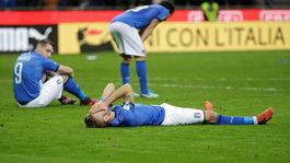 Taliansko, smútok, futbal