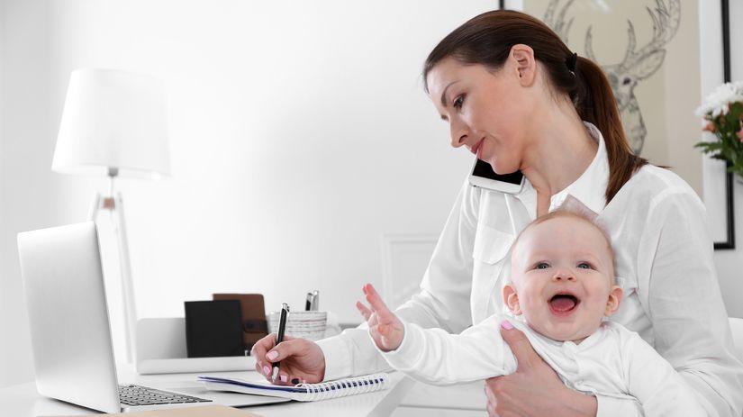 žena, dieťa, práca