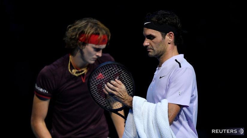 Alexander Zverev, Roger Federer