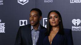 Herec a raper Ludacris a jeho partnerka Eudoxie Mbouguiyengue.