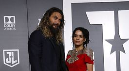 Herecký manželský pár Jason Momoa a Lisa Bonet.