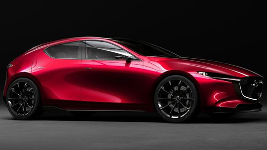 Mazda Kai Concept: Toto je nová 'trojka'. Zatiaľ v šatách štúdie